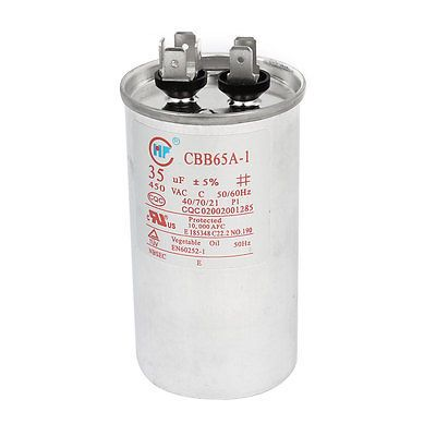 $11.54 (Buy here: https://alitems.com/g/1e8d114494ebda23ff8b16525dc3e8/?i=5&ulp=https%3A%2F%2Fwww.aliexpress.com%2Fitem%2FCBB65A-1-AC-450V-35uF-5-Cylindrical-Polypropylene-Film-Motor-Run-Capacitor%2F32719254688.html ) CBB65A-1 AC 450V 35uF 5% Cylindrical Polypropylene Film Motor Run Capacitor for just $11.54