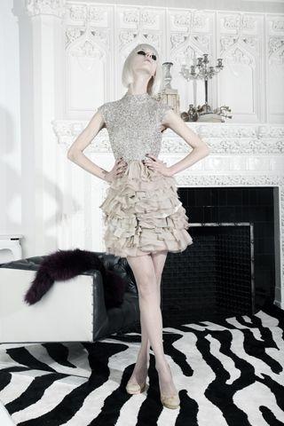 Fall 2012 ready-to-wear  Alice + Olivia. Perfect  holiday dress