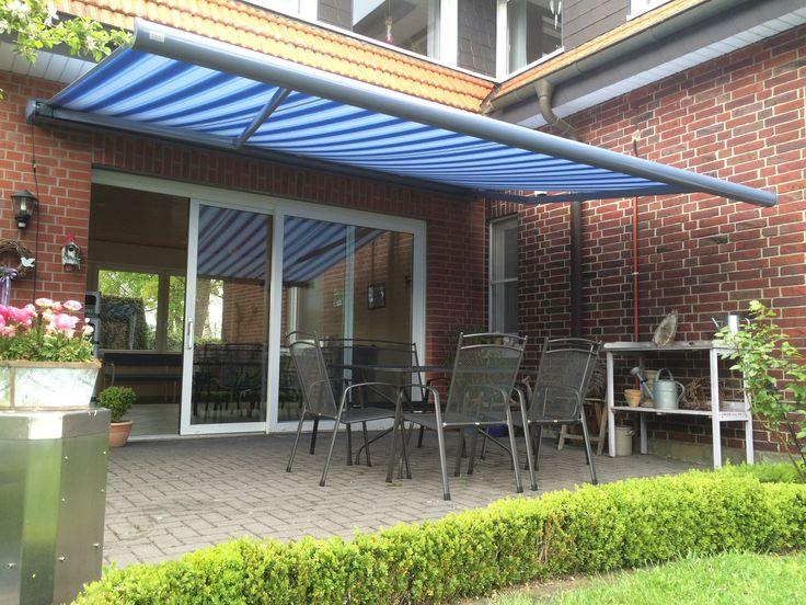 42 best Markise   Sonnenschutz images on Pinterest Solar shades - sonnenschutz markisen terrasse
