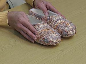 Видео мастер-класс И.Полубояриновой по валянию тапочек | Ярмарка Мастеров - ручная работа, handmade