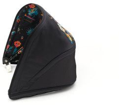 Go bold with the Bugaboo by Niark1 Sun Canopy for the Bugaboo Bee5. The colourful monsters on the black sun canopy are fun and unexpected both inside and out.  #ad