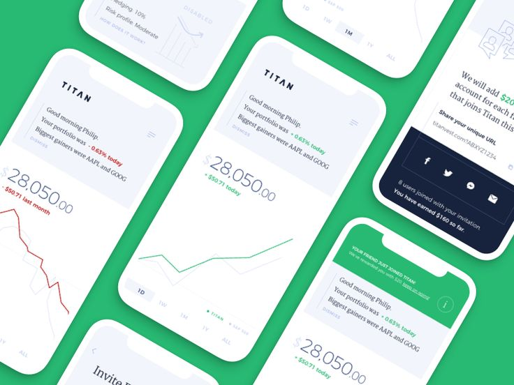Hedge Fund Mobile App