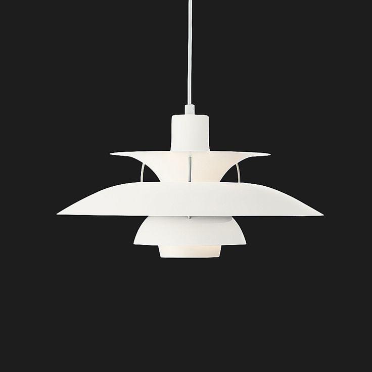 PH 50 Pendel, 23W/200W, Coconut White - Poul Henningsen - Louis Poulsen - RoyalDesign.se