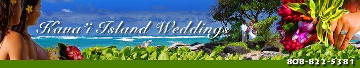 Kauai Island Weddings offers the best wedding packages and photograpgy on Kauai, Hawaii.