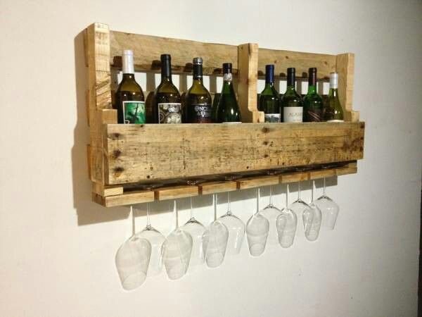 Wine rack made on the c h e a p!!