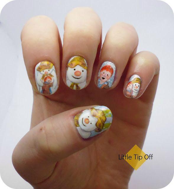 Little Google1 Nail Art: UK Nail Art Blog: Christmas Nail Art