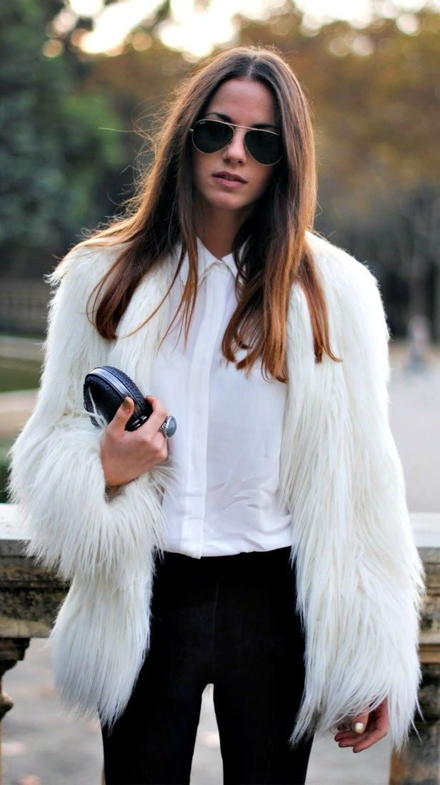 Fall Classics: Love this Black and white look.