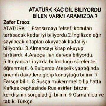 Tattoo Finka Atatürk lisan