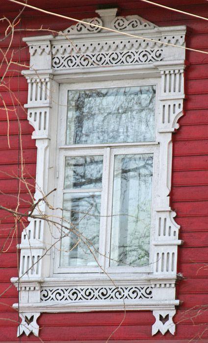 Наличник (г.Вологда) / Wood architraves in Vologda, Russia
