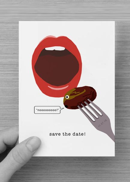 Save the Date Wedding Postcard - Digital Copy £9.80