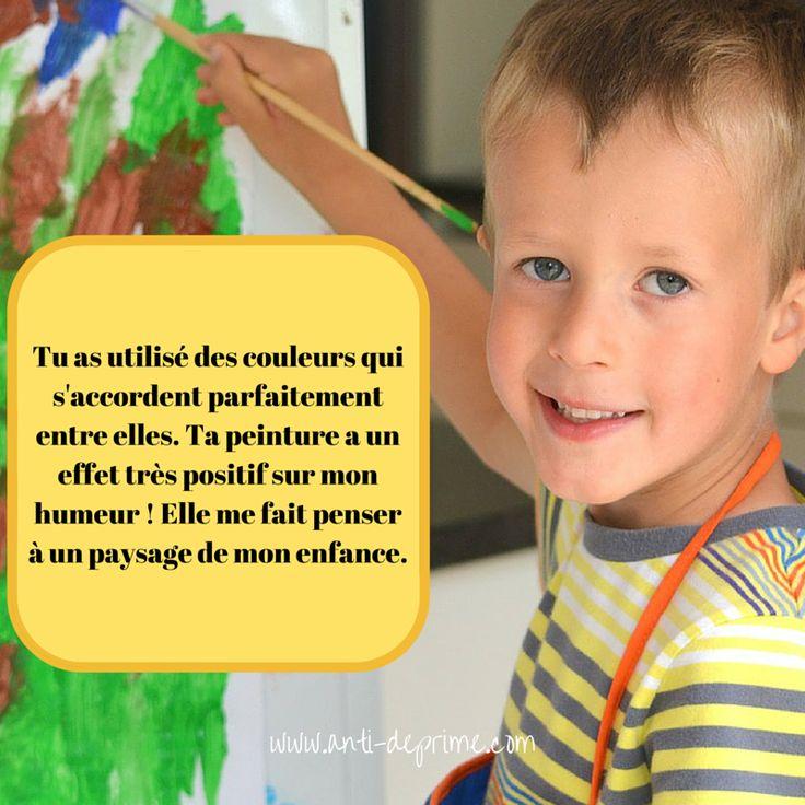 Le compliment est à la base des progrès d'un enfant et de la construction de son estime personnelle. Afin de faire comprendre les enjeux de complimenter de la meilleure façon, je vais citer «Parents...