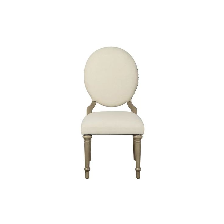 Antonie Upholstered Side Chair in Beige in 2020 ...