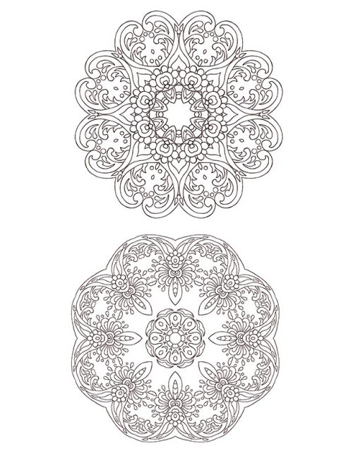 Advanced Christmas Coloring Page 13