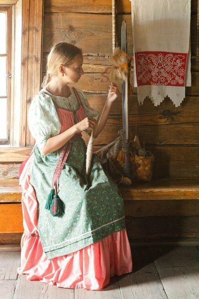 Финно-угорские красавицы Карельская девушка