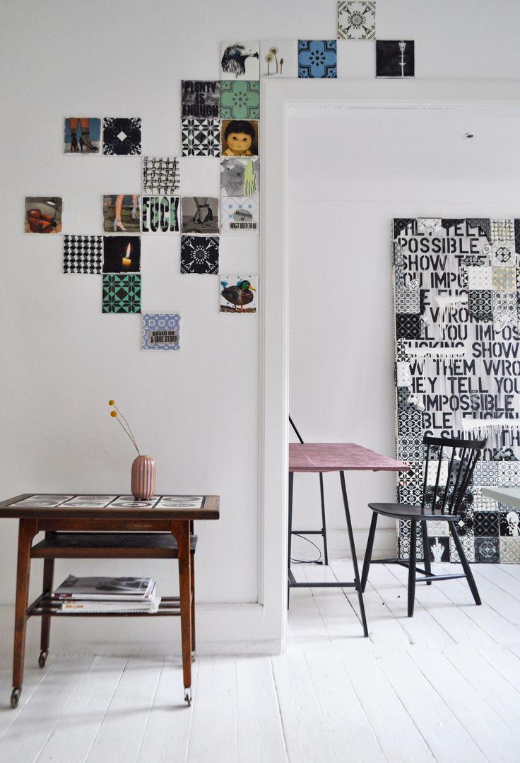 Wall decor, canvas ARTTILES.