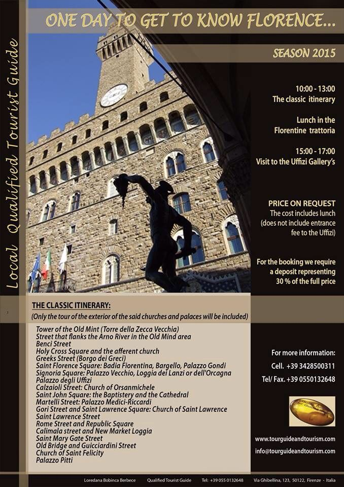 The classic itinerary in Florence