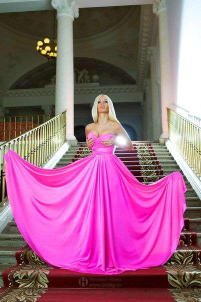 #Pink dress  grey dress #2dayslook #greyfashion   www.2dayslook.com
