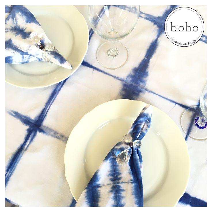 Shibori Tablecloth