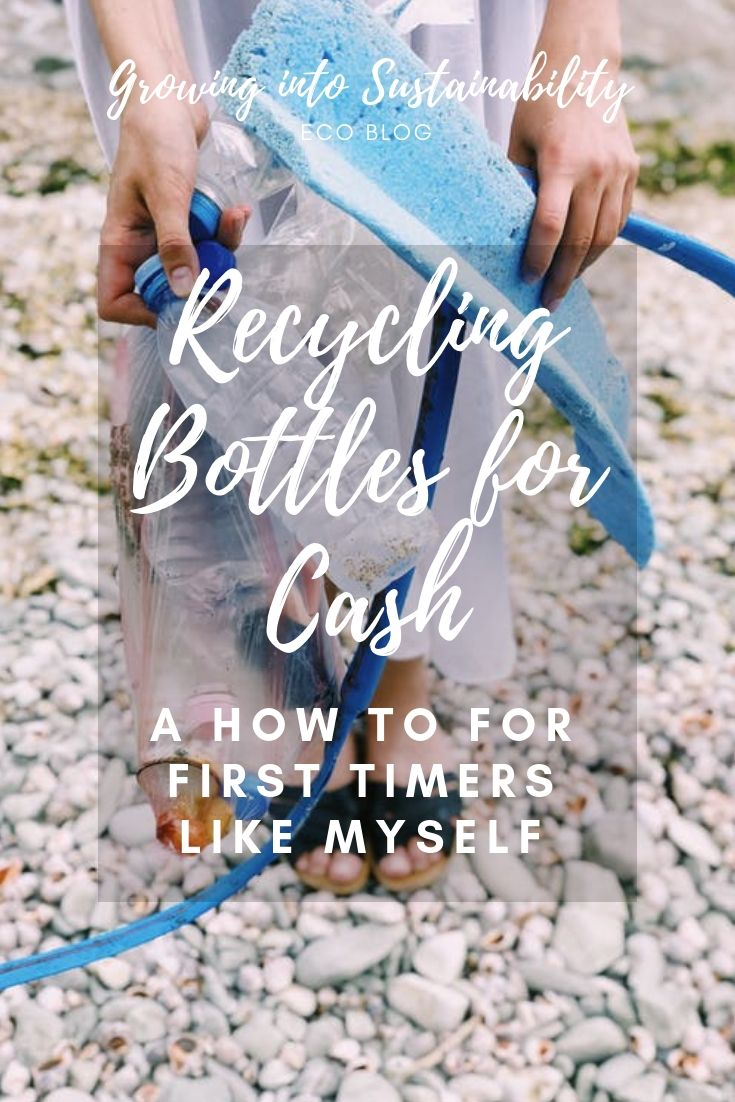 Recycling Bottles For Cash A How To For First Timers Like Myself Recycled Bottles Recycling Bottle