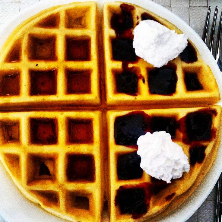 #waffles #breakfast #Sunday