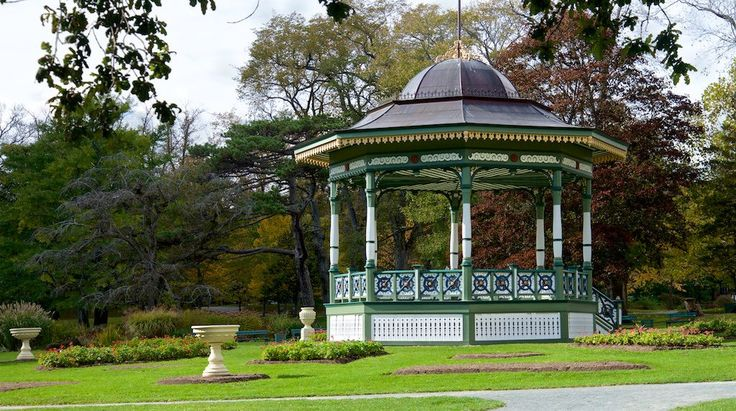 https://flic.kr/p/PugM1o | DSC_7293 | The Bandstand.    The Halifax Public Gardens are Victorian era public gardens formally established in 1867, the year of Canadian Confederation. The gardens are located in the Halifax Regional Municipality, Nova Scotia on the Halifax Peninsula near the popular shopping district of Spring Garden Road and opposite Victoria Park. The gardens were designated a National Historic Site of Canada in 1984  The new library opened in December 2014 and has become a…
