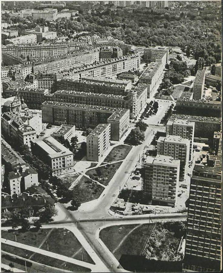Al. Armii Ludowej, Warsaw, 60's.