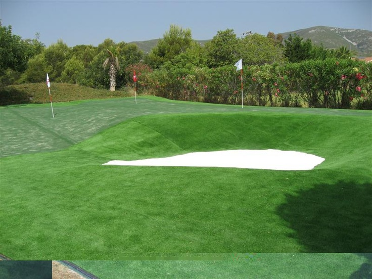 Campo de golf de c sped artificial econ mico dados sus - Cesped artificial economico ...