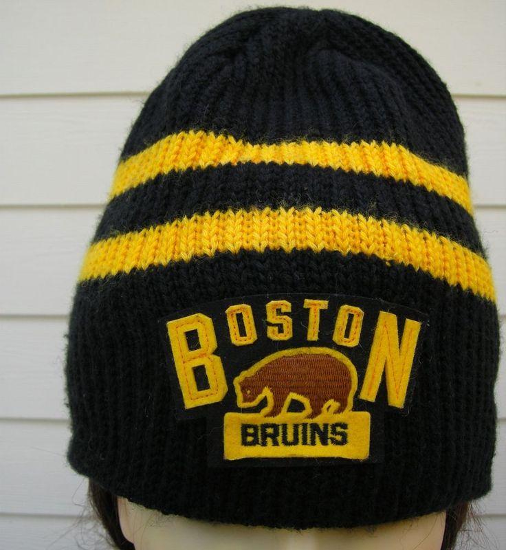NHL BOSTON BRUINS WINTER CLASSIC 2016 REEBOK KNIT BEANIE HAT Center Ice  #Reebok #BostonBruins