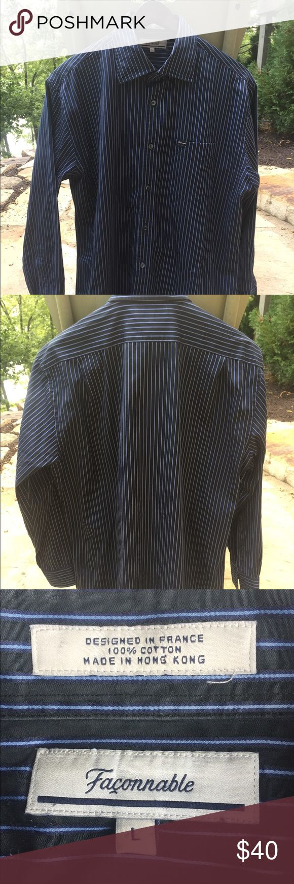 Faconnable Dress Shirt Perfect condition size L Faconnable Shirts Dress Shirts