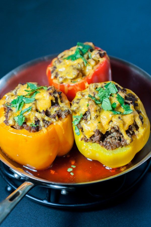 about Sausage Stuffed Peppers on Pinterest | Sausage Stuffing, Stuffed ...