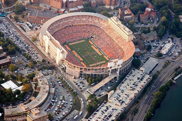 The Mecca of College Football for me Neyland stadium