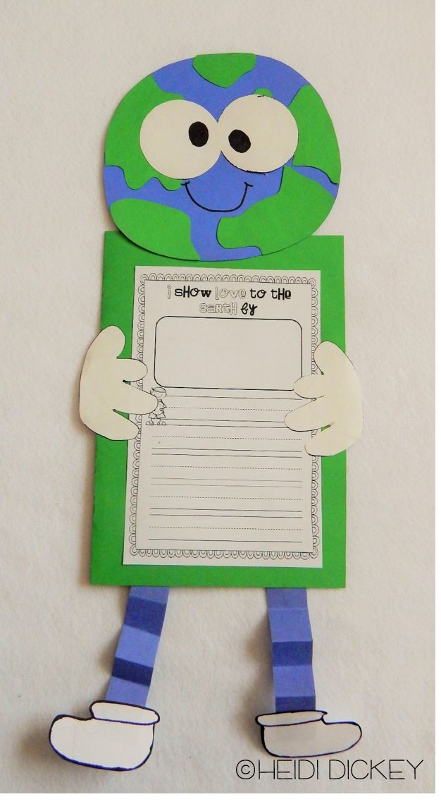 Earth Day Craft...a part of a 78 page unit all about Earth Day