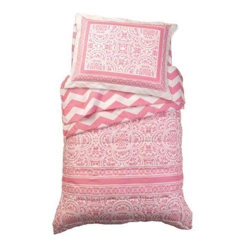 Ropa para Cama Infantil Lace & Chevron - Rosa