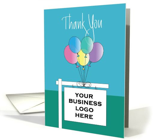 thank you from realtor custom realtor sign with colorful