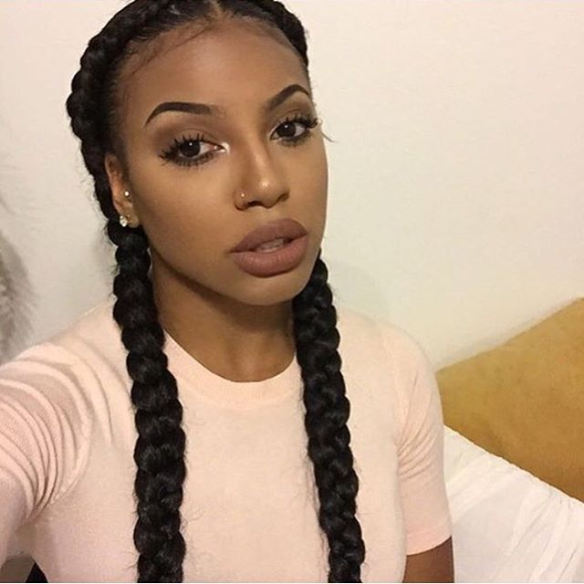 Best 25 2 goddess braids ideas on pinterest corn braids really cute french braids currently obsessed with this simple protective style urmus Images