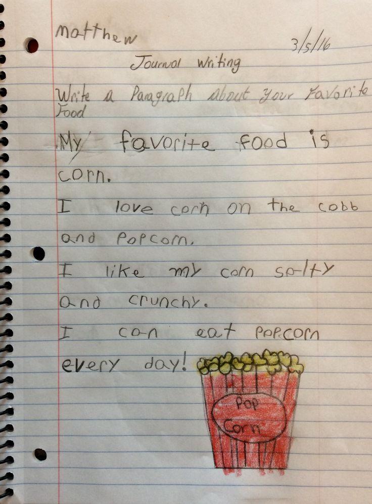 Writing Story Grade 1st