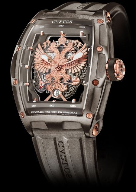 CVSTOS Proud to Be Russian - Gérard Depardieu Edition Limited Edition Titanium with Red Gold components