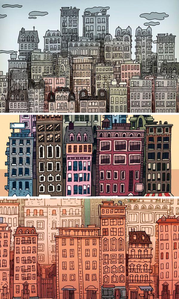 Sand City Illustrations | Abduzeedo Design Inspiration jorge tabanera
