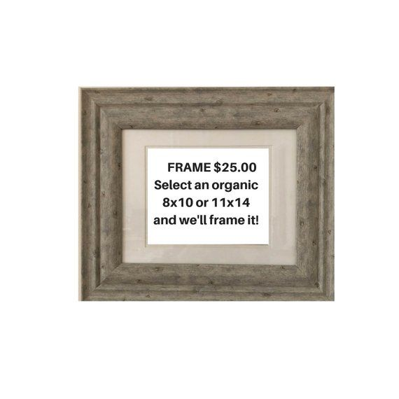 17 X 20 Farmhouse Frame For 8x10 Or 11x14 Print Distressed Hardwood Vertical Or Horizontal Style Frame Farmhouse Frames Frame Vertical Or Horizontal
