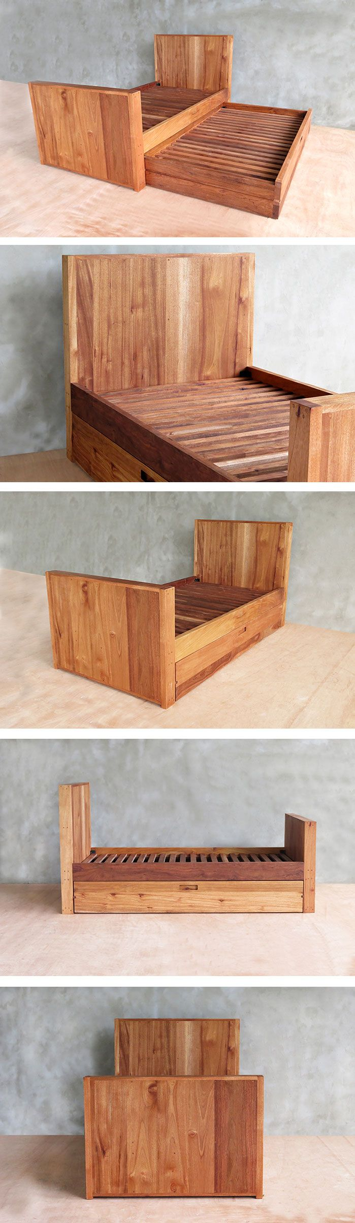 Attractive Custom Mahogany Twin Trundle Bed By Masaya U0026 Company For Family In Sag  Harbor, New York. Made To Order From Sustainably Sourced Cedro Macho  (Nicaraguan ...