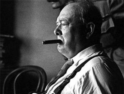 Исторические персонажи и их фетиши: Уинстон Черчилль и сигары