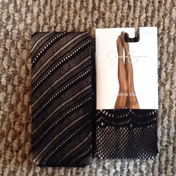 Jessica Simpson Espirit tights pantyhose leg wear Both NWT. Jessica Simpson s/m Espirit m/l but judging by my other Espirit tights they run small. Jessica Simpson Accessories Hosiery & Socks