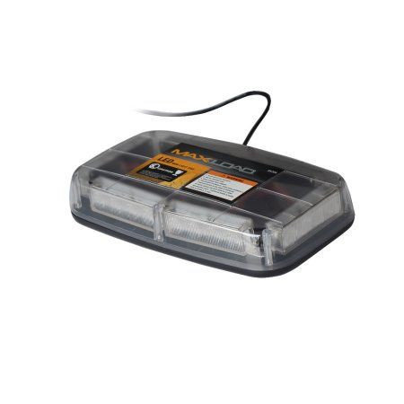 Max Load 12v Amber 24 LED Emergency Rooftop Mini Light Bar