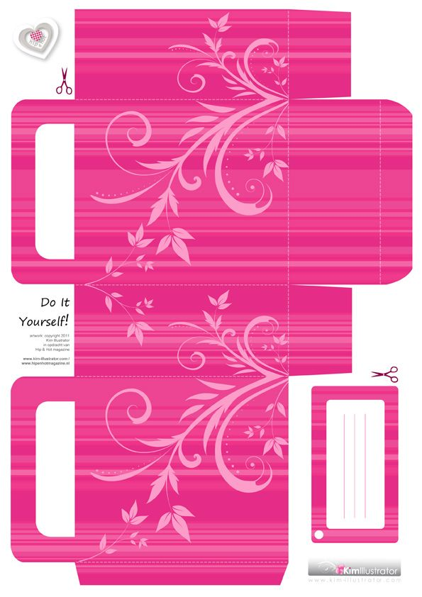 166 best Templates images on Pinterest Cartonnage, Crafts and - gift box template free