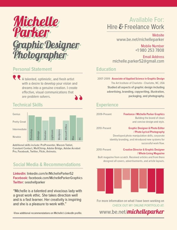 104 best {Design} Resume \ Portfolio images on Pinterest - portfolio for resume