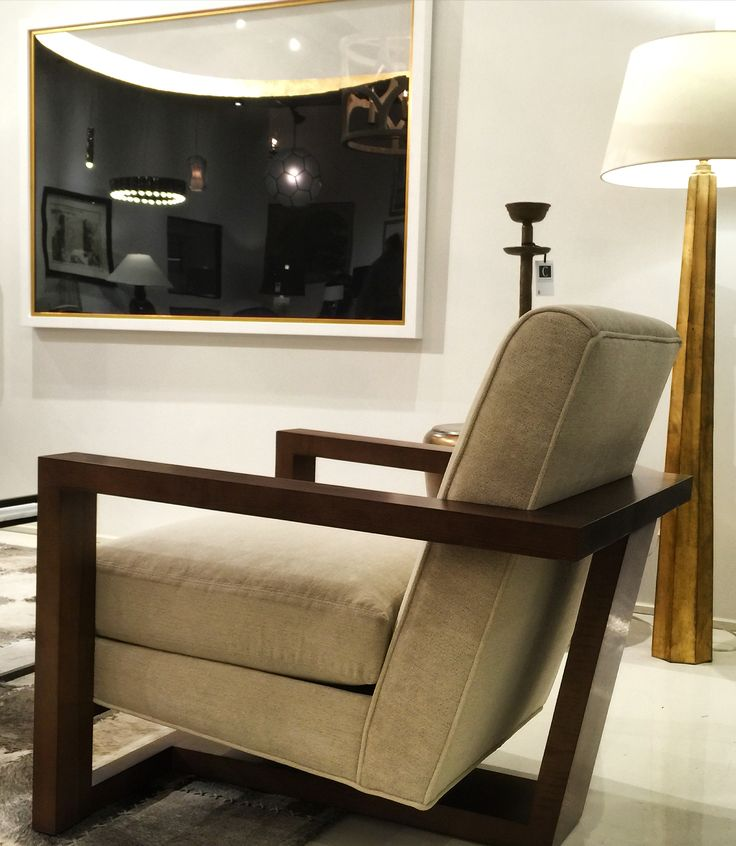 The Roger armchair by Milo Baughman. Style and character.