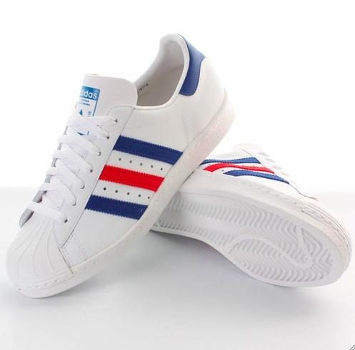 Adidas Superstar Vintage Red/Blue edition