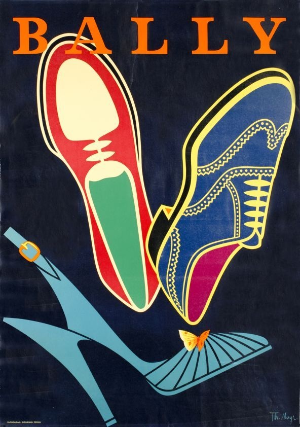 Bally - Vintage Posters - Galerie 123 - The place to find vintage art