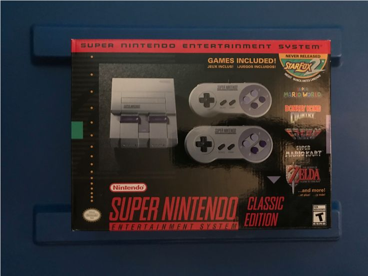 Brand New Super Nintendo Entertainment System: Super NES Classic Edition | eBay