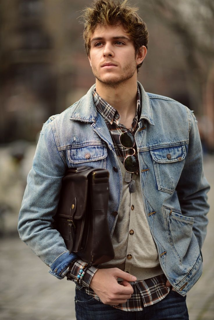 Men S Casual Inspiration 4: Men's Style: Rugged Class!